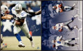 Football Collectibles:Photos, Dallas Cowboys Stars Signed Oversized Photographs Lot of 4....