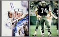 Football Collectibles:Photos, Dallas Cowboys Legends Signed Oversized Photographs Lot of 4....