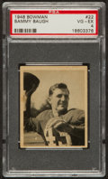 Football Cards:Singles (Pre-1950), 1948 Bowman Sammy Baugh #22 PSA VG-EX 4....