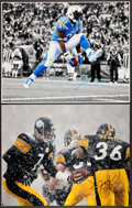 Football Collectibles:Photos, Jerome Bettis and LaDainian Tomlinson Signed Oversized Photographs Lot of 2....