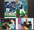 Football Collectibles:Photos, Sports Legends Signed Prints Lot of 4....
