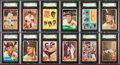 Baseball Cards:Lots, 1960 Through 1963 Topps Baseball Middle Grade Collection (327). ...