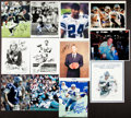 Football Collectibles:Photos, Cowboys Stars Signed Photographs Lot of 12....