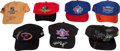 Miscellaneous Collectibles:General, Misc. Sports Stars Signed Cap Lot of 7....