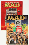 Magazines:Mad, Mad Group Magazine Group (EC, 1960-85) Condition: Average VG....(Total: 59 Comic Books)