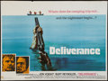 "Movie Posters:Action, Deliverance (Warner Brothers, 1972). British Quad (30"" X 40"").Action.. ..."