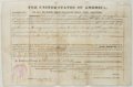 Autographs:U.S. Presidents, [U. S. President]. Franklin Pierce (1804-1869, 14th President ofthe United States). Group of Three Letters, All with Secretar...