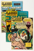 Golden Age (1938-1955):Classics Illustrated, Classics Illustrated Higher HRN Group (Gilberton, 1940-60s)Condition: Average VG-.... (Total: 45 Comic Books)