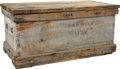 Military & Patriotic:Indian Wars, Colonel Elmer I. Otis: The Wood Trunk of the Man Who Replaced Custer as Commander of the 7th Cavalry after Little Bighorn and ...