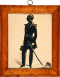 Military & Patriotic:Foreign Wars, Silhouette: [Frederick] Frith, 1843,...