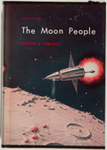 Books:Science Fiction & Fantasy, [Jerry Weist]. Stanton A. Coblentz. The Moon People. Avalon, 1964. Very good....