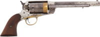 Remington 1858 44/40 Revolver, Modified for Wild West Show Use