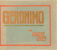 Geronimo The Apache Chief: Book of Photos taken by Legendary Tombstone Photographer C. S. Fly