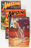 Pulps:Science Fiction, Amazing Stories Group (Ziff-Davis, 1928-49).... (Total: 10 Items)
