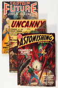 Pulps:Science Fiction, Assorted Science Fiction Pulps First Issues Group (Various,1929-50) Condition: Average VG.... (Total: 13 Items)