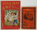 Books:Children's Books, Group of Two Early Twentieth Century Children's Books with ClothLeaves. Unknown editions. Good.... (Total: 2 Items)
