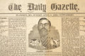 Miscellaneous:Newspaper, Jesse James: An Extremely Rare and Important St. Joseph, Missouri Newspaper Supplement Devoted to the Slain Outlaw. ...