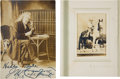 Photography:Cabinet Photos, Pawnee Bill and Captain Jack: Two Wild West Show Legends....(Total: 2 Items)