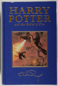 Books:Children's Books, J. K. Rowling. Harry Potter and the Goblet of Fire.Bloomsbury, 2000. Deluxe edition. As new....