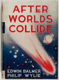 Books:Science Fiction & Fantasy, [Jerry Weist]. Edwin Balmer and Philip Wylie. After Worlds Collide. Lippincott, 1934. Later edition. Dust jacket...