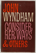 Books:Science Fiction & Fantasy, [Jerry Weist]. John Wyndham. Consider Her Ways and Others. Michael Joseph, 1961. Very good....