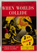 Books:Science Fiction & Fantasy, [Jerry Weist]. Edwin Balmer and Philip Wylie. When Worlds Collide. Lippincott, 1933. Later edition. Very good....