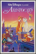 """Movie Posters:Animation, The Aristocats (Buena Vista, R-1987). One Sheet (27"""" X 41""""). Animation.. ..."""