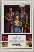 "Movie Posters:Historical Drama, Cleopatra (20th Century Fox, 1963). One Sheet (27"" X 41"").Historical Drama.. ..."