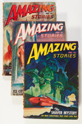 Pulps:Science Fiction, Amazing Stories Box Lot (Ziff-Davis, 1935-49) Condition: Average GD....