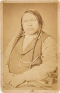 Photography:Cabinet Photos, Chief Ouray of the Utes: A Rare Cabinet Photo. ...