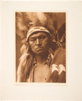 """Photography, Edward S. Curtis, Photographer. Photogravure from The North American Indian: """"Cayuse Warrior"""" Plate 272...."""