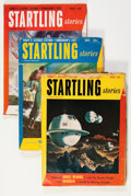 Pulps:Science Fiction, Startling Stories Box Lot (Standard, 1941-52) Condition: AverageGD....