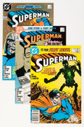 Modern Age (1980-Present):Superhero, Superman Box Lot (DC, 1987-97) Condition: Average NM....
