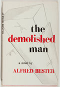 Books:Science Fiction & Fantasy, Alfred Bester. INSCRIBED. The Demolished Man. Shasta, 1953. Book club edition. Signed and inscribed by the aut...
