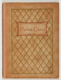 Books:Children's Books, [Kate Greenaway, illustrator]. Mother Goose. Fair. Twelvemo.No jacket. Unless otherwise noted, all volumes are firs...