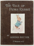 Books:Children's Books, Beatrix Potter. The Tale of Peter Rabbit. Early edition.32mo. No jacket. Fair. Unless otherwise noted, all volu...