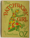 Books:Children's Books, L. Frank Baum. The Patchwork Girl of Oz. First edition,earliest printing. No jacket. Fair. Unless otherwise noted, ...