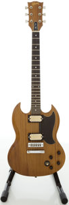 Musical Instruments:Electric Guitars, 71379519 Gibson The SG Walnut Solid Body Electric Guitar, # 71379516....