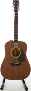 Musical Instruments:Acoustic Guitars, 1981 Takamine F-349 Mahogany Acoustic Guitar, #81020419....
