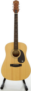 Musical Instruments:Acoustic Guitars, Epiphone PR-200 Natural Acoustic Guitar, #1028961....