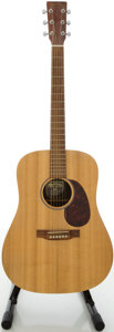 Musical Instruments:Acoustic Guitars, Martin DX1 Natural Acoustic Guitar, #1247679....
