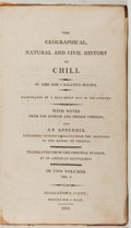 Books:World History, Abbe Don J. Ignatius Molina. The Geographical, Natural and CivilHistory of Chili. I. Riley, 1808. Contemporary ...