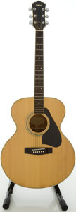Musical Instruments:Acoustic Guitars, Yamaha CJ-818 Natural Acoustic Guitar, #91208833....