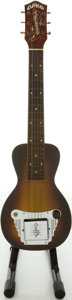 Musical Instruments:Lap Steel Guitars, Circa 1948 Oahu Tonemaster Model Sunburst Lap Steel Guitar....