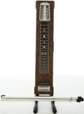 Musical Instruments:Lap Steel Guitars, Circa Late 1970's Sho-Bud Maverick Brown Pedal Steel Guitar, #17177....