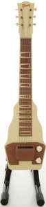 Musical Instruments:Lap Steel Guitars, Circa 1949 Gibson BR-9 Tan Lap Steel Guitar....