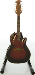 Musical Instruments:Banjos, Mandolins, & Ukes, Recent Ovation Celebrity Redburst Electric Mandolin, #1653790....