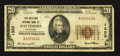 National Bank Notes:Maryland, Baltimore, MD - $20 1929 Ty. 1 The Western NB Ch. # 1325. ...