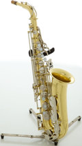 Musical Instruments:Horns & Wind Instruments, Yamaha YAS-23 Brass Alto Saxophone, #249196....