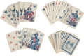 Militaria:Ephemera, Deck of Civil War Playing Cards Dated 1862...
